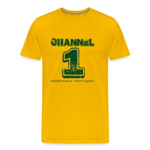 Channel 1 - Maxfield Ave - Men's Premium T-Shirt