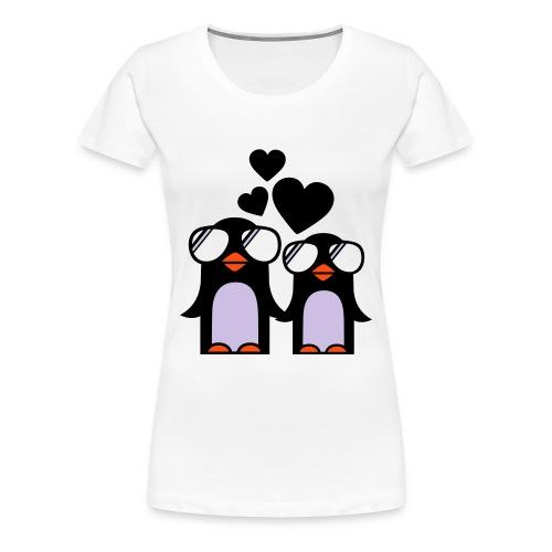 PENGUINS IN LOVE  - T-shirt Premium Femme