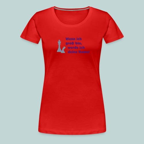 Bauer wird Dame - Frauen Premium T-Shirt