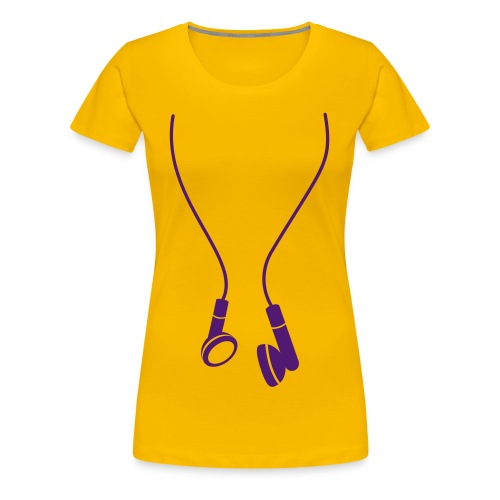 Purple  - T-shirt Premium Femme