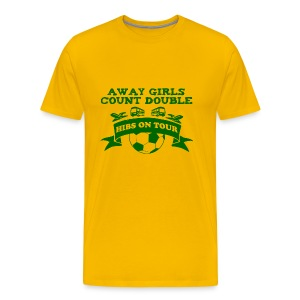 Away Girls Count Double - Men's Premium T-Shirt