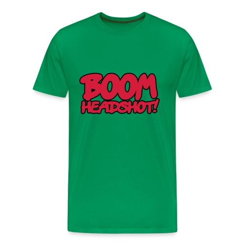 Boom Headshot - Premium T-skjorte for menn