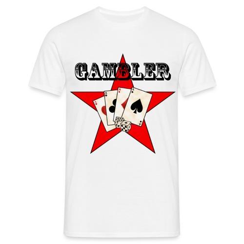 Poker T- shirt - T-skjorte for menn