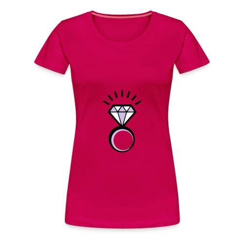 T Shirt Donna Crazy Diamond - Maglietta Premium da donna