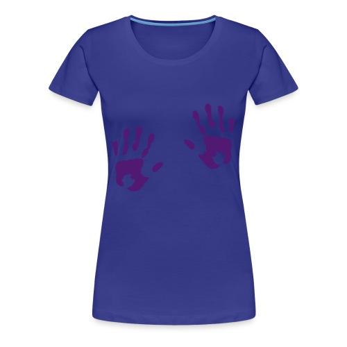 hands on boobs - Women's Premium T-Shirt