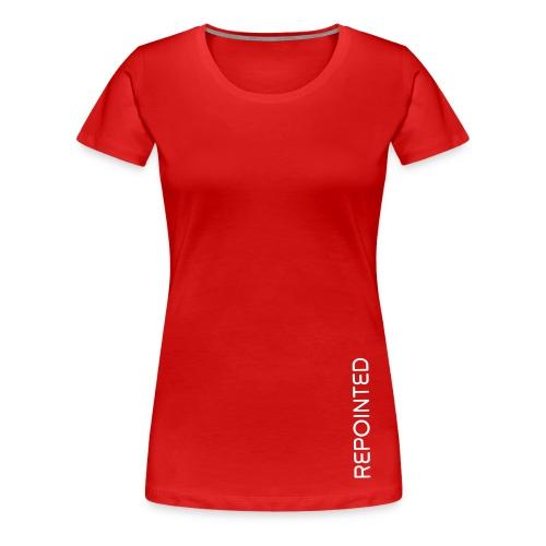 Repointed Shirt (w) - Frauen Premium T-Shirt