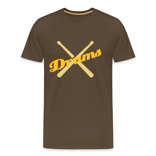 I'm with my band - drums - Men's Premium T-Shirt