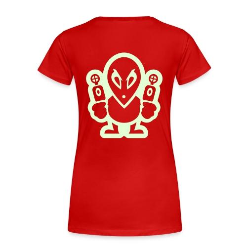 girls SWAGGA IS EMOTIONAL..TM  (SHOWCASE PROMO) - Women's Premium T-Shirt