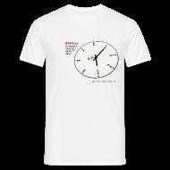 T-Shirts ~ Männer T-Shirt ~ Bahnzeit 2001