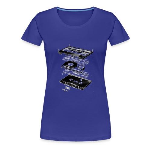 tape - Camiseta premium mujer