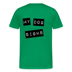 mydog label (front) - Men's Premium T-Shirt