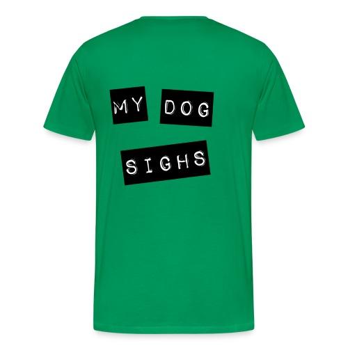 mydog label (front) - Men's Premium T-Shirt