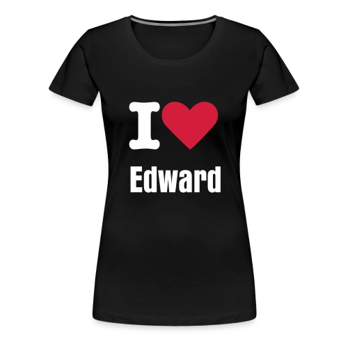 i heart edward - Women's Premium T-Shirt