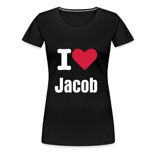 i heart jacob - Women's Premium T-Shirt