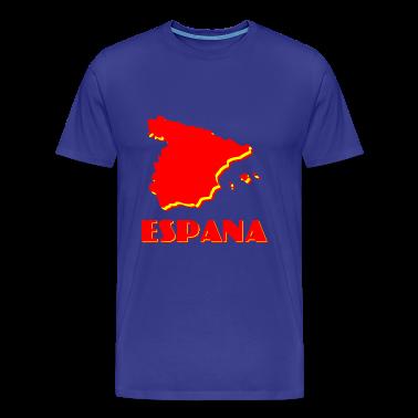 Royal blue Espana2 Men's T-Shirts