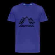 T-Shirts ~ Men's Premium T-Shirt ~ Running to the Hills