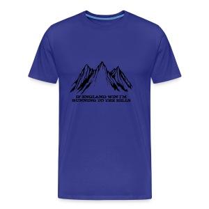 Running to the Hills - Men's Premium T-Shirt