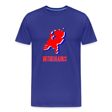 Sky Netherlands Men's T-Shirts