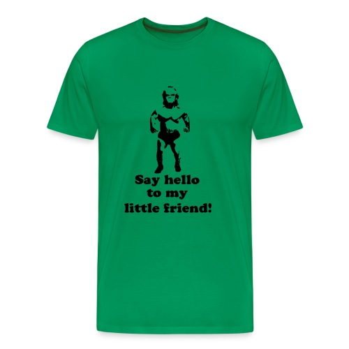 Say hello to my little friend t-shirt - Premium-T-shirt herr