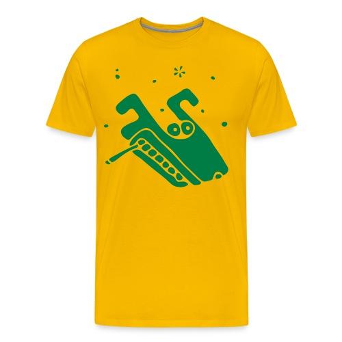 Fucked up dogg! - Premium T-skjorte for menn