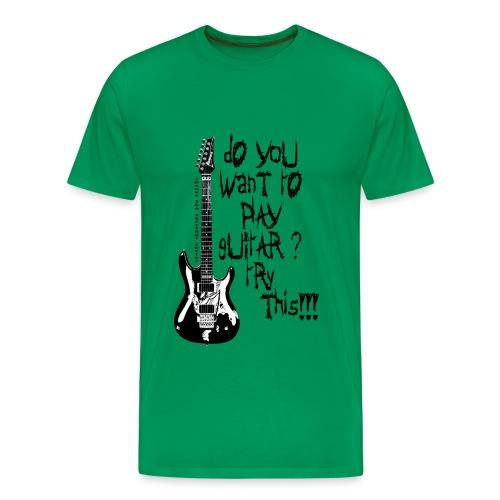 playguitar - Camiseta premium hombre