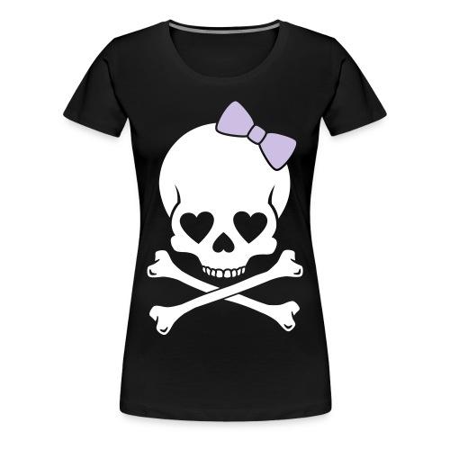 SkullHeart - Vrouwen Premium T-shirt