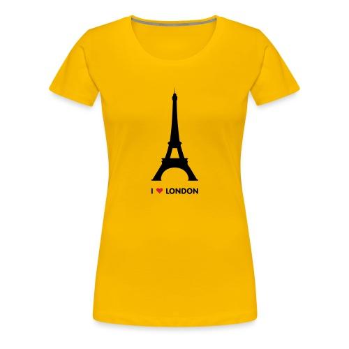 I love London vrouwen premium - Vrouwen Premium T-shirt