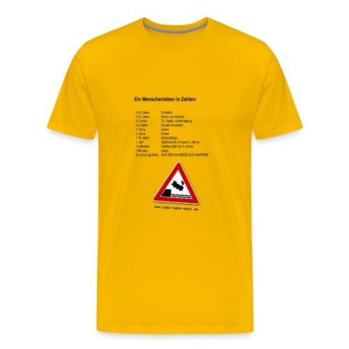 Menschenleben - Männer Premium T-Shirt