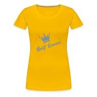 Golf Queen   Frauen Premium T Shirt