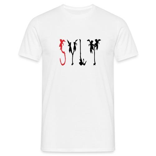 Sylt Schriftzug - Männer T-Shirt