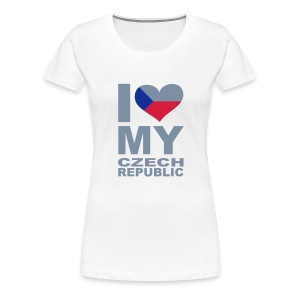 I love my Czech Republic - Women's Premium T-Shirt