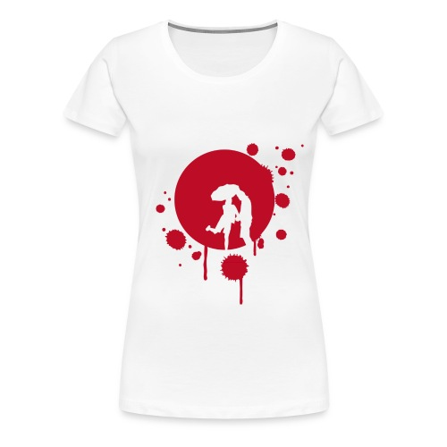 Rainy day - Frauen Premium T-Shirt