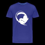 T-shirts ~ Herre premium T-shirt ~ Listen