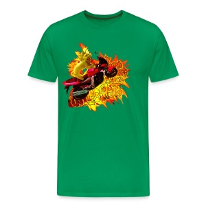 Let out the wildcat 2, t-shirt - Herre premium T-shirt