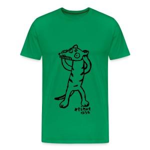 Beatrice Barth Irrer Beutelwolf - Männer Premium T-Shirt
