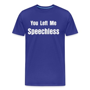 Speechless - Men's Premium T-Shirt
