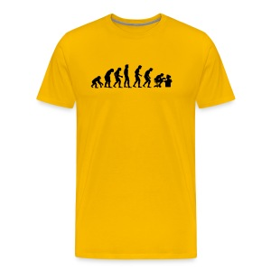 Evolution - Herre premium T-shirt