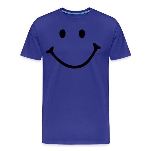 smiling tshirt - Men's Premium T-Shirt