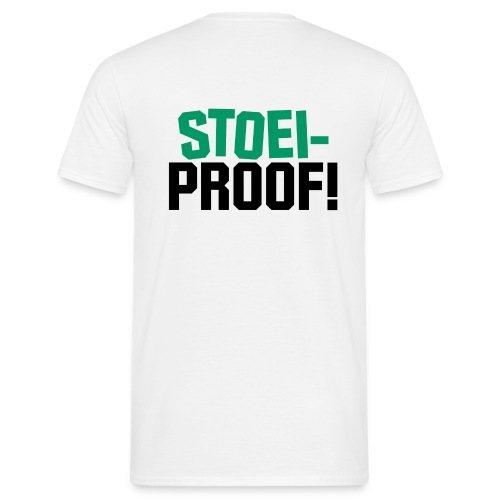 Stoei-proof (sand) - Mannen T-shirt