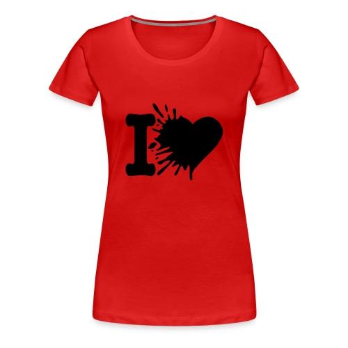 Le t-shirt love - T-shirt Premium Femme