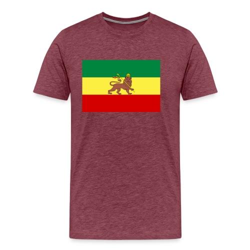 Men: Ethiopia Flag t-shirt - Men's Premium T-Shirt