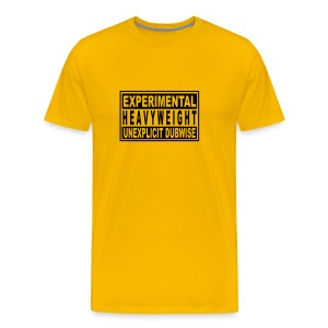 Experimental heavyweight unexplicit dubwise - Men's Premium T-Shirt
