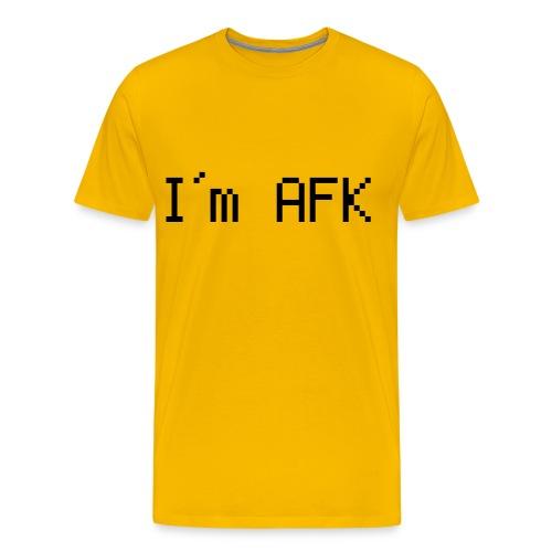 I'm AFK - Men's Premium T-Shirt