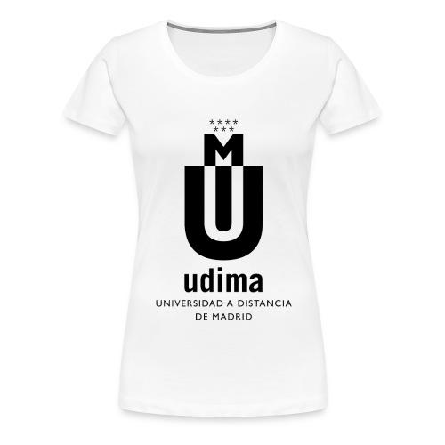 Camiseta manga corta mujer- UDIMA - Camiseta premium mujer