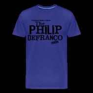 T-Shirts ~ Men's Premium T-Shirt ~ Philip DeFranco Show Shirt (Male) w/ black text