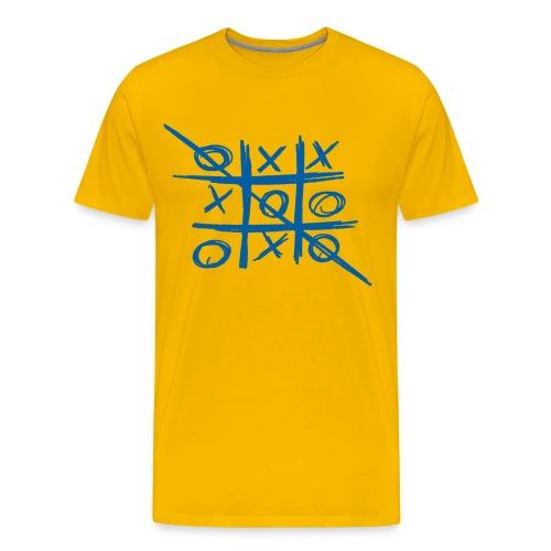 Tic-tac-toe or Tris - Men's Premium T-Shirt