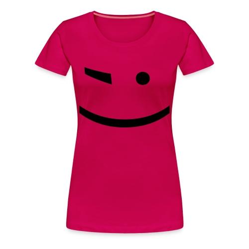 Wink ;) - Women's Premium T-Shirt