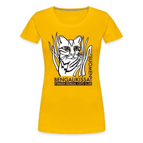 Tyyppi 6 - naisten t-paita (väri vapaa) - Naisten premium t-paita