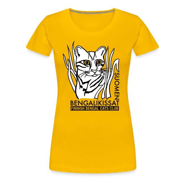 Tyyppi 6 - naisten t-paita (väri vapaa)