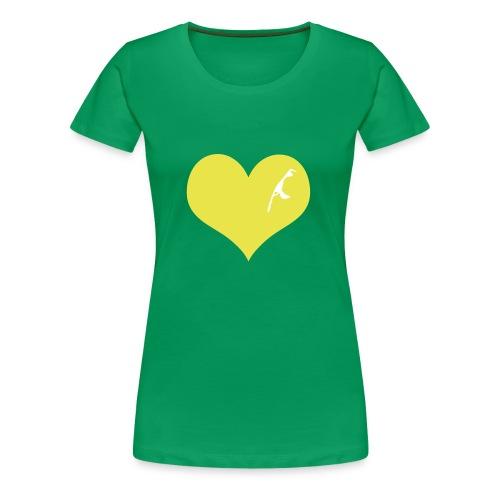Sylt Herz - Frauen Premium T-Shirt